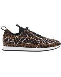 Fendi Ffreedom sneakers - Braun