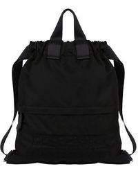 Alberta Ferretti Track Bagback - Black