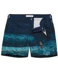 Orlebar Brown - Bulldog Photographic Swim Shorts - Lyst