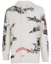 Givenchy Sweatshirt à capuche imprimé - Multicolore