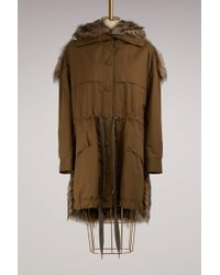 Stella McCartney - Gail Faux Fur Coat - Lyst