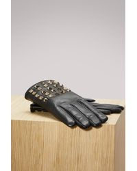 Valentino - Studs Gloves - Lyst