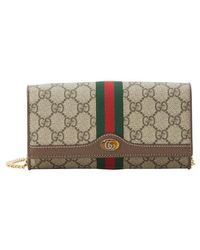 Gucci - Ophidia Chain Wallet - Lyst