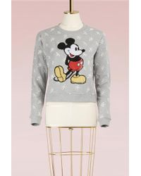 Marc Jacobs - Embroidery Mickey Mouse Sweatshirt - Lyst