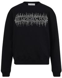Givenchy Sweatshirt à sequins - Noir