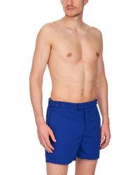Frescobol Carioca Short de bain Block - Bleu