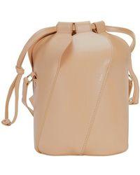 Chloé Tulip Small Bucket Bag - Natural