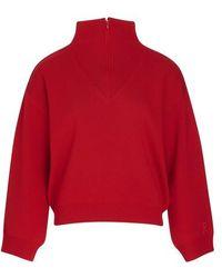 Roseanna Knit Turtleneck - Red