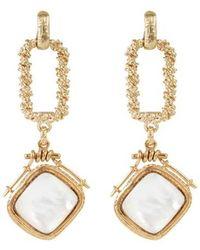 Gas Bijoux Siena Earrings - Metallic