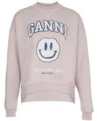 Ganni Isoli Sweatshirt - Multicolour