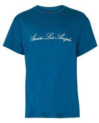 Amiri Los Angeles T-shirt - Blue