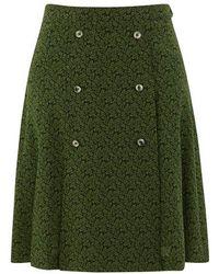 A.P.C. Kyoko Skirt - Green