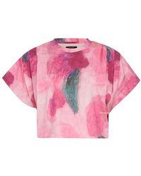 Isabel Marant T-shirt Zinalia - Rose