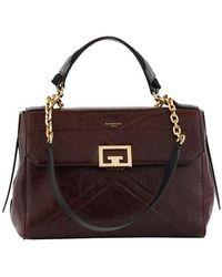 Givenchy Sac porté épaule médium ID Flap bag - Violet
