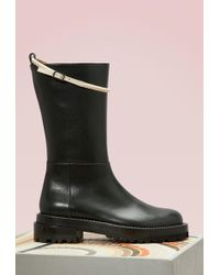 Marni | Calf Leather Boots | Lyst
