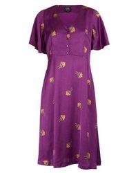 A.P.C. Lavinia Dress - Purple