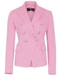 Balmain Denim Jacket - Pink