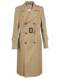 Maison Margiela Décortique Trench Coat - Natural
