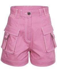 Balmain Cargo Shorts - Pink
