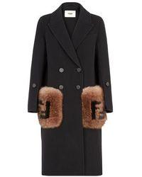 Fendi Coat - Black