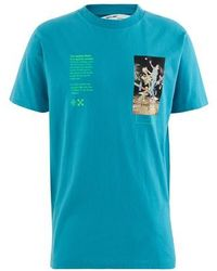Off-White c/o Virgil Abloh Pascal Painting T-shirt - Blue