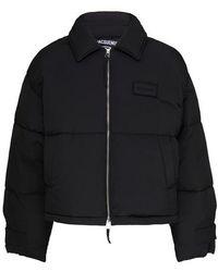 Jacquemus Flocon Puffer Jacket - Black