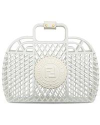 Fendi Basket Medium - White