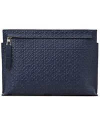 Loewe Repeat T-pouch - Blue