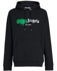 Palm Angels Sweatshirt à capuche Milano - Noir