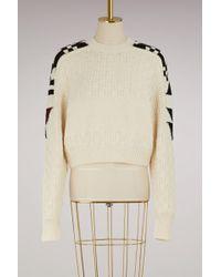 Isabel Marant - Cotton And Wool Laytonn Sweater - Lyst