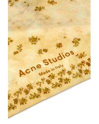 Acne Studios Halstuch Vada - Gelb