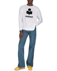 Isabel Marant T-shirt Kieffer Manches Longues - Blanc