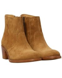 A.P.C. Cowboy Boots Anna - Brown