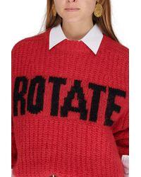 ROTATE BIRGER CHRISTENSEN Brandy Sweater - Red