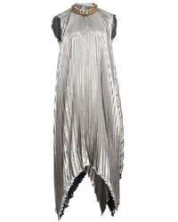 Givenchy - Robe longue cape - Lyst