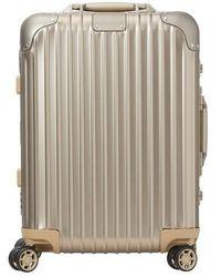 RIMOWA Original Trunk S Suitcase - Multicolour