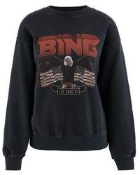 Anine Bing Bing Sweatshirt - Black