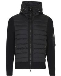 Moncler Double Fabric Jacket - Black