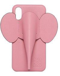 Loewe Elephant Phone Case For Iphones X/xs - Pink