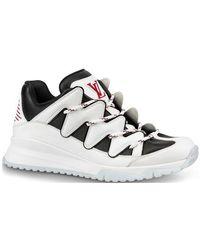 silver louis vuitton shoes