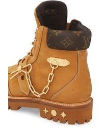 Louis Vuitton LV Creeper Ankle Boot - Natur