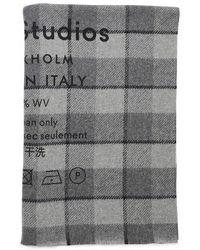 Acne Studios Scarf - Grey