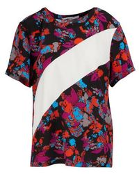 Givenchy Floral Print Top - Multicolor