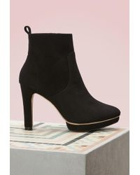 Repetto Gwenole Boots With Heels - Black