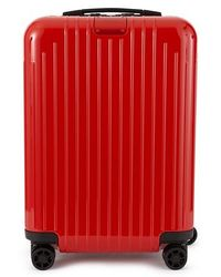 RIMOWA Essential Cabin 22-inch Wheeled Carry-on - Red