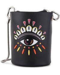 KENZO Eye Mini Bucket Bag - Black