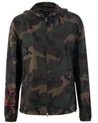 Valentino Como Army Parka - Multicolour