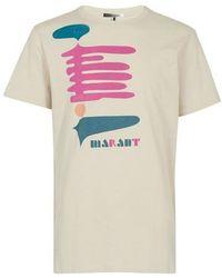 Isabel Marant T-Shirt Zafferh - Mehrfarbig