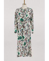 Isabel Marant - Silk Calypso Dress - Lyst