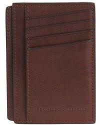 Brunello Cucinelli Mini Card Case - Brown